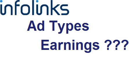Infolinks Ad types review